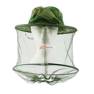 Head Face Protector Hat Cap Bug Bee Insect Mosquito Fly Resistance Net Mesh