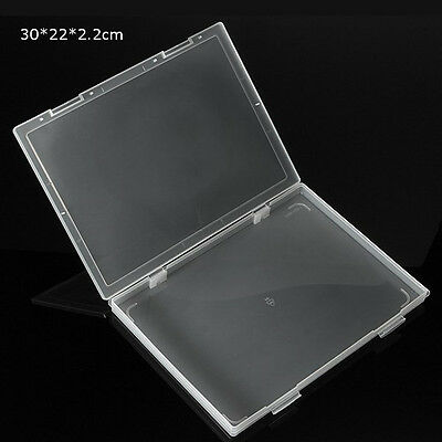 Transparent Storage Box Clear Plastic With Cover Multipurpose Collection Contain