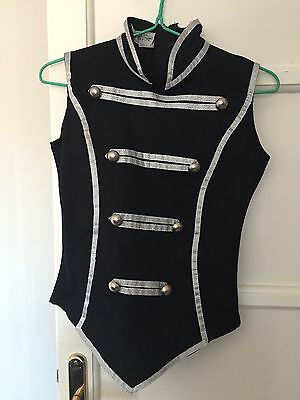 Circus Inspired Embellished Vest black size S steam punk