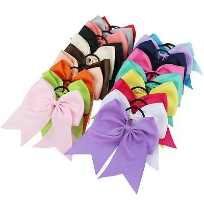 US~ 20PCS Infant Baby Toddler Girl Headband Ribbon Flower Bow Headwear Hair Band
