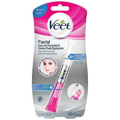 Veet Cera Depilatoria Tibia Lapiz Facial - Face Precision Wax And Care Cream