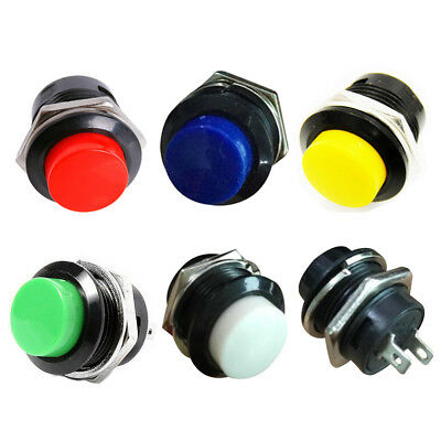10 momentary push button switch OFF-(ON) 16mm L5T7