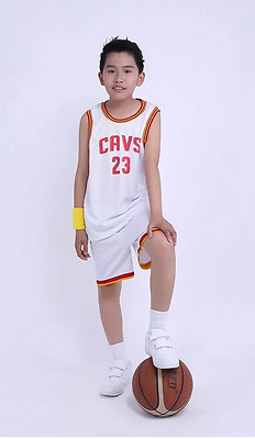 Children's clothing suits playing the game of basketball cavs 23#