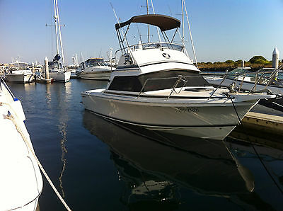 26 Flybridge Caribbean 96 mod on quality trailer Immaculate