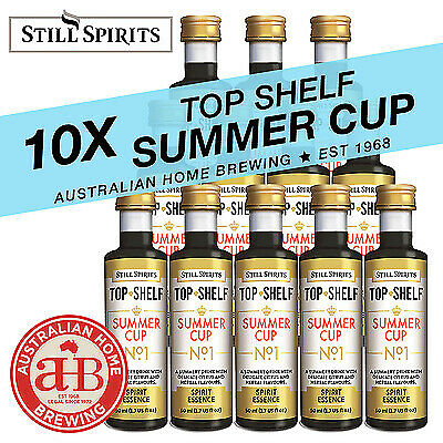 10x Still Spirits Top Shelf  Summer Cup No1  essence Pimms style home brew