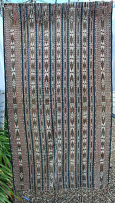 +++ Antique Indonesian Hand Woven Ikat Blanket +++