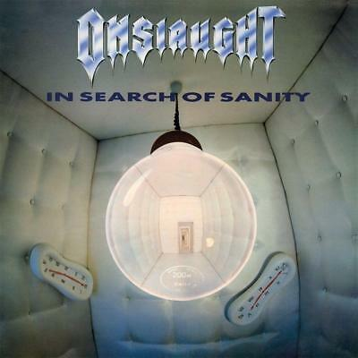 ONSLAUGHT – IN SEARCH OF SANITY Double Clear Vinyl LP (NEW/SEALED) RSD 2017