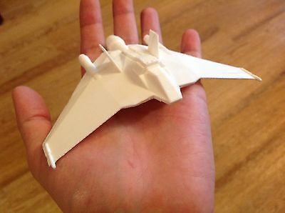 Stargate SG-1 F-302 Fighter Unpainted Assembled
