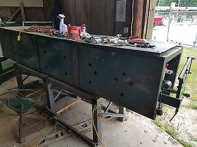 """2- 6"""" and 1-5"""" gutter machine with two trailers and Spectra Materials/inventory"""