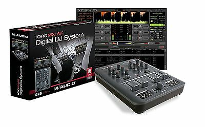 M-Audio Torq MixLab Digital DJ System (Torq LE software and X-Session Pro)