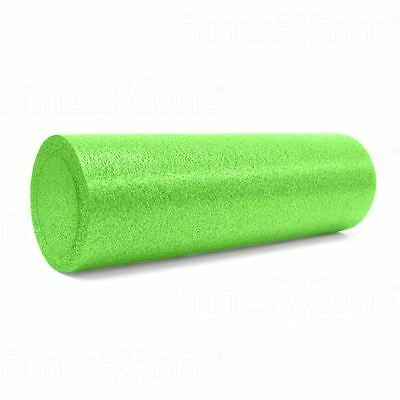 Foam Roller Yoga Massage Workout Exercise Rehab Physio Gym Therapy 15x45cm Green