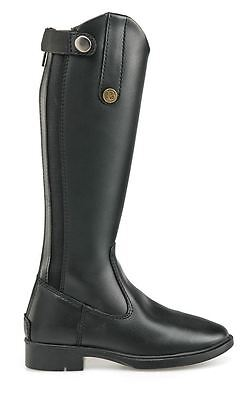 Brogini Modena Piccino Kids Childs Faux Leather Flexible Pony Horse Riding Boot