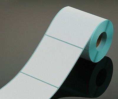 500 Pcs / Roll Thermal Label Thermal Sticker Blank Label 45*50MM High Quality