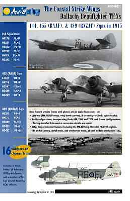 Dallachy Strike Wing Beaufighters… 144, 455, & 489 Sqns – Aviaeology Docs Only