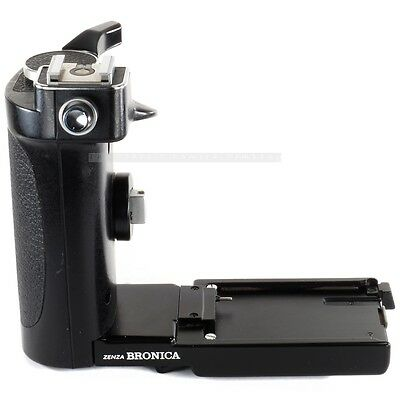 Used Zenza Bronica Speed Grip-E with Flash Shoe for ETR ETRC ETRS ETRSi ETR-C