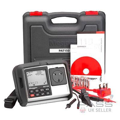 Megger PAT150 Hand Held Portable Appliance PAT Tester with RCD Testing