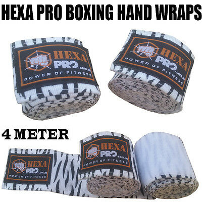 camo white Hand Wraps Boxing MMA UFC Wrist Guards cotton Bandages gloves straps