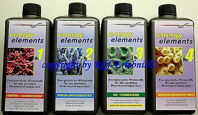 Energy Elements No 1-4  4 x 500ml aqua connect  28,98€/L