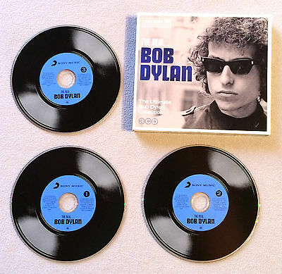 Bob Dylan - The Real The Ultimate Collection / Triple Cd Album Columbia