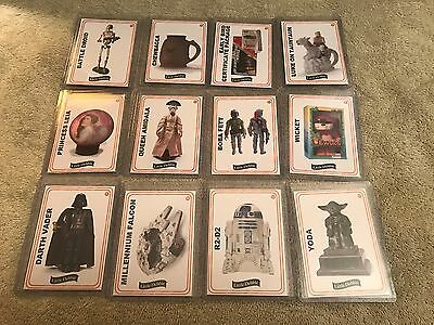 2017 Star Wars Little Debbie Rancho Obi Wan Complete 12 Card Set Star Crunch