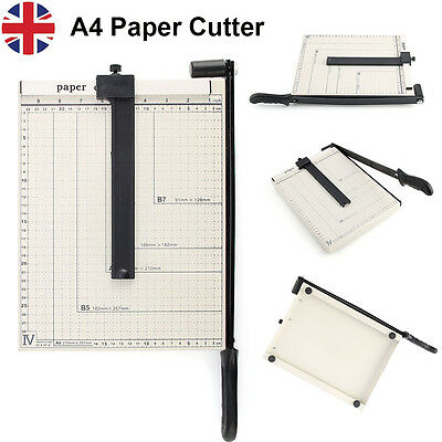 Pro A4 A5 B6 B7 Paper Cutter Trimmer Guillotine Machine Safety Guard Home Office