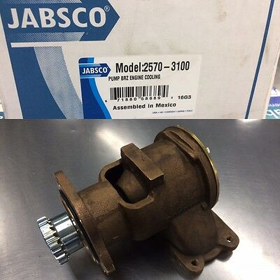 Jabsco Detroit Diesel Engine Pump (2570-3100)