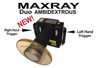 MaxRay Duo Handheld AMBIDEXTROUS Portable Dental Medical Veterinary Mobile X-Ray