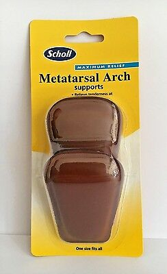 Scholl Metatarsal Arch Supports Maximum Relief - 1 Pair