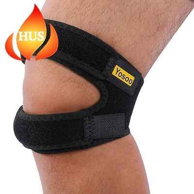 Knee Patella Strap Support for Runners and Jumpers Yosoo Adjustable Band Brace