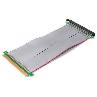 PCI-Express PCI-E 16X Riser Card Ribbon Extension 20cm Cable High Quality  AC646