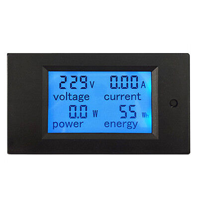 AC260V 100A Digital Power Meter Monitor Voltage Module Voltmeter Ammeter BI507