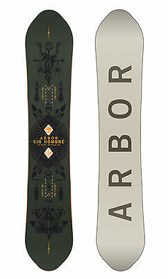 Arbor Sin Nombre Snowboard (154) Mens Unisex Deck All Mountain Freestyle