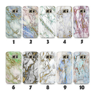 New Phone Case Cover Marble Luxury Gold for Samsung Galaxy S6 Edge S7 Edge !!