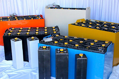 "New Forklift Battery - Model 12-85-5 - 24 Volt - Dims: (L25.91""xW5.75""xH23.25"")"