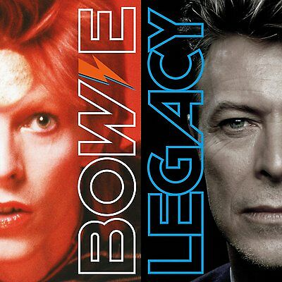 David Bowie Legacy (2CD) Greatest Hits Best Of Collection Set Gift Ziggy Music