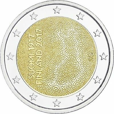 2 Euro - 100 yr independence Finland - UNC