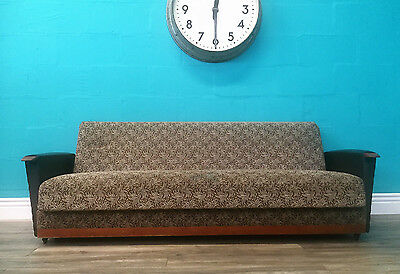 Quality Vintage Retro Mid Century Early 50S Day Bed Sofa Bed
