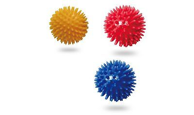 8cm or 10cm Massage Ball 3-Pack Trigger Point Physio, Relief, Lacrosse Ball SALE