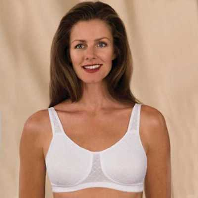 e4633fc39851b Trulife 4003 Chloe Seamless Jacquard Softcup Mastectomy Bra NEW with tags