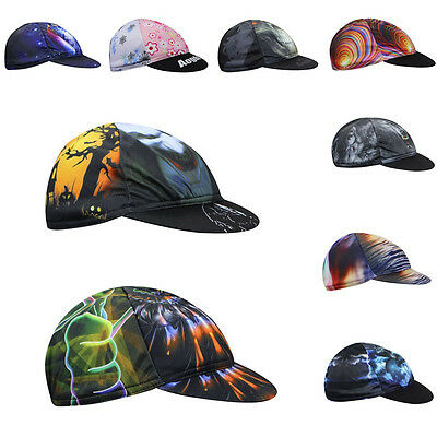 17 Style Unisex Bike Cycling Bicycle Cap Hat Sunhat Suncap Bandana