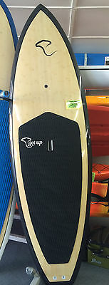 Lattitude Epoxy Stand Up Paddle Board - CARBON SURF BOARD