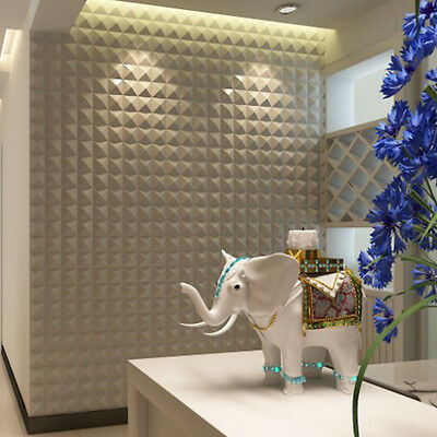 3D Creative Mosaic Stereo Wall Stickers Self-adhesive Wallpaper Waterproof