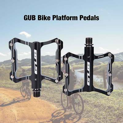 Ultralight MTB BMX Road Bike Pedals Aluminum Sealed Bearing Flat Platform Pedals