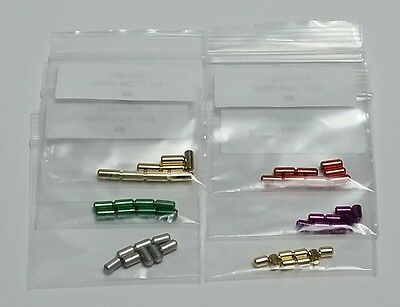 Custom Kwikset Rekeying Kit Rekey Up To 8 Locks Brass Bottom Rekeying Pins Only