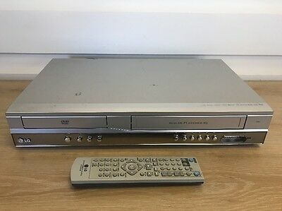LG V181 DVD Player / Video Vcr Vhs Recorder combo 6 Head Hi-Fi Stereo + Remote