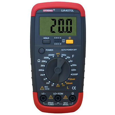 UYIGAO UA4070 DMM Inductance LCR Multi Meter Tester with Backlight G8P9