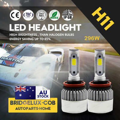 H8 H9 H11 CREE LED Car Headlight 180W 20000LM Bulbs Upgrade Conversion Kit
