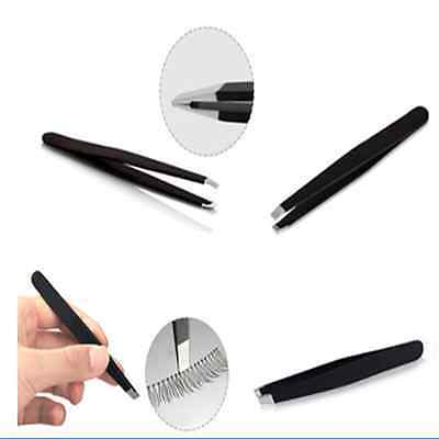 Professional Eyebrow tweezers Hair Beauty Slanted Stainless Steel Tweezer ToolS,