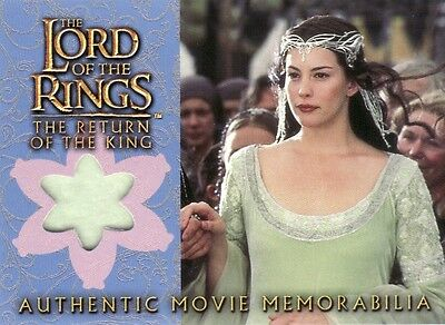 Lord of the Rings Return of the King Arwen's Coronation Dress Costume Card LotR