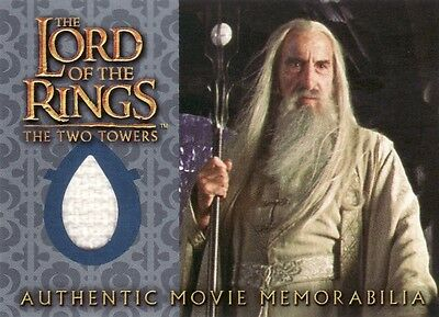 Lord of the Rings The Two Towers Saruman's Overtunic Costume Card LotR